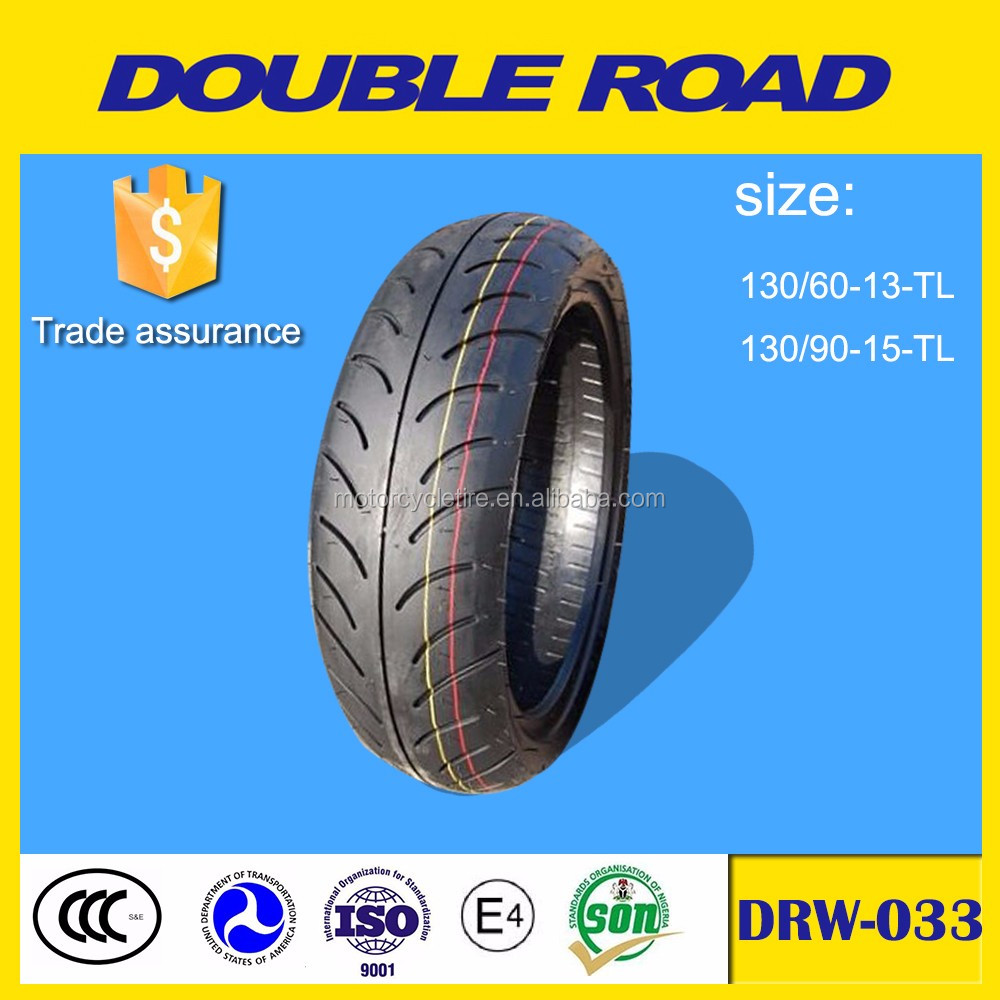 China factory double road brand motorcyle tire 130/90-15 wholesale