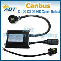 Canbus Digital Ballast with D2R D2S D2C socket