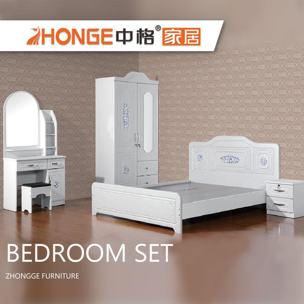 Alibaba China Mdf Design Pvc Wooden White High Gloss Bedroom Furniture Set  - Buy Bedroom Furniture,White High Gloss Bedroom Set,Alibaba China Bedroom  ...