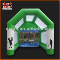 Attractive Big Golf Activity Inflatable Cube Tent