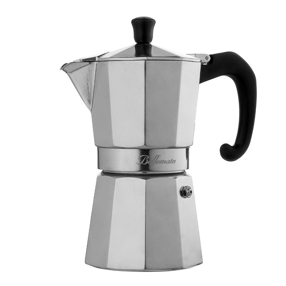 アルミ 3 カップエスプレッソ/モカコンロポータブルコーヒーメーカー
