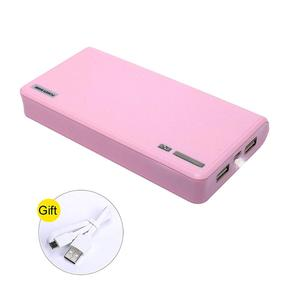 moniko pink 20000mAh Portable Charger Power Bank Ultra High Capacity - Phone Battery Packs Fast Charging for mobile phone