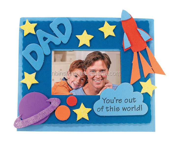 Cu2304 Kids Felt Diy Photo Frame,Craft Felt Paper,Felt Craft - Buy ...