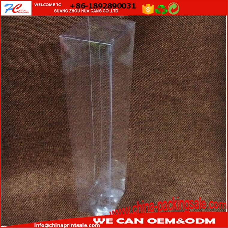 clear square plastic box transparent pp plastic packaging gift box rectangle folding box