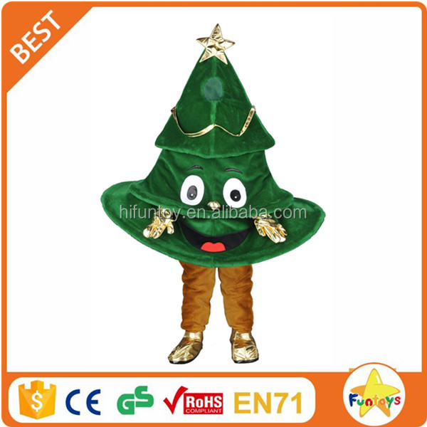 Funtoys CE Custom made Lovely Christmas Tree mascot for party and events