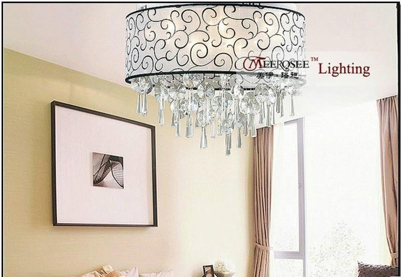 2013 Luminaires Pour Chambre Seule Pendaison Cristal Plafonnier Avec Un Plafond Bas Md10072 L10