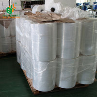 HOT SALES Machine use plastic polyester stretch film jumbo roll