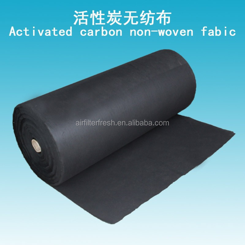 Activated Carbon Non-woven Fabric Air Filter Material