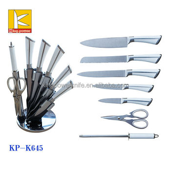 Top Sale Made In China 7pcs Stainless Steel Kitchen Knives Types With  Acrylic Block   Buy Stainless Steel Kitchen Knives Types,Knives Set With  Acrylic ...