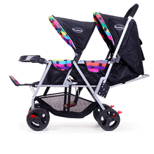 high quality double baby stroller / twins kids pushchairs / cheap baby twin carriage with low price