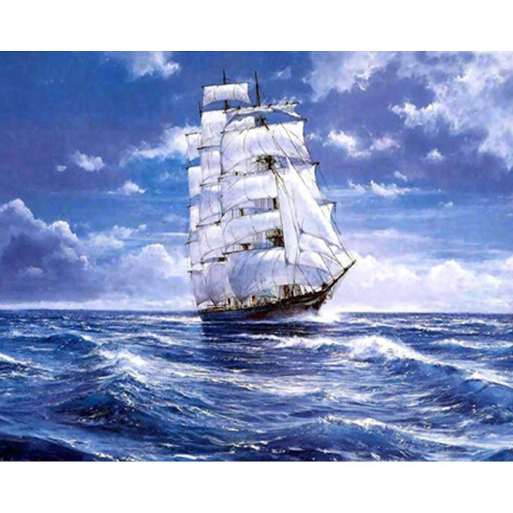 С днем рождения открытка с кораблем, новый год