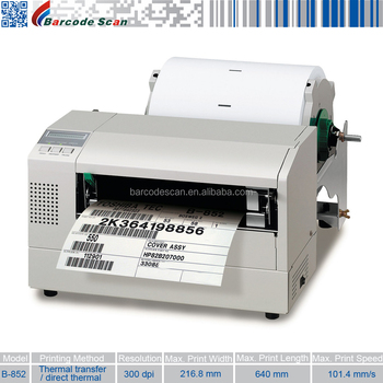 TEC BARCODE PRINTER B 452 DRIVERS FOR PC