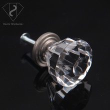 The cheap price Faceted Acrylic Crystal Door knob and drawer pulls