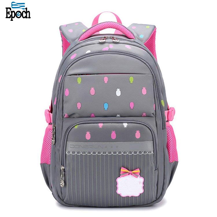 Enfants en gros écologique de conception unique enfant étudiant sac à dos enfants sacs d'école pour les filles