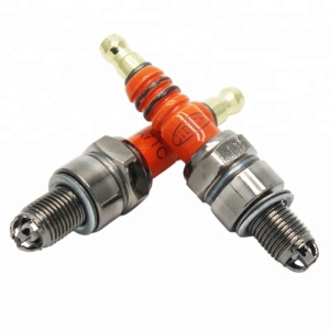 Red Color Spark Plug A7TC GY6 50cc 125cc Moped Scooter Parts