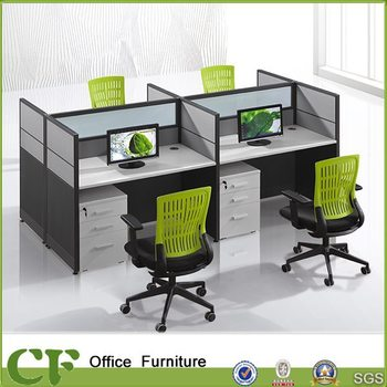 Acoustic Office Glass Cubicle Workstation Partitions Specification ...