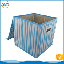 Wholesale Nursery Square And Cloud Cd Box Storage With Cover