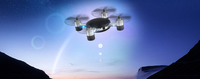 Mini Lily FPV air hover camera drone with Cellphone Control MJX X916H Dropshipper
