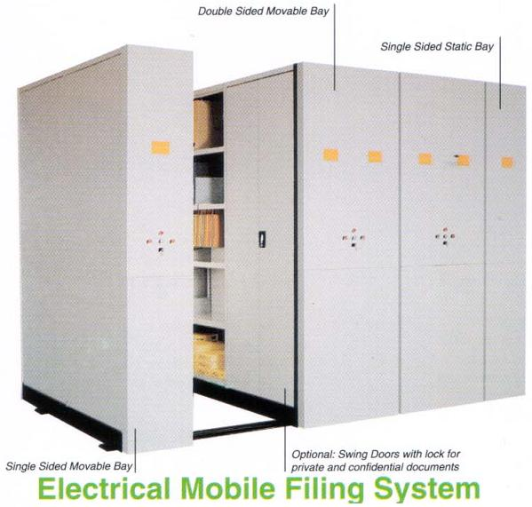 Electronic Moveable Compactor Filing Cabinet - Buy Filing Cabinet ...