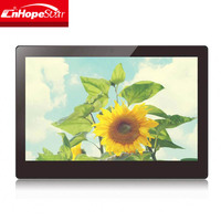 12 inch android media player HD digital signage wall mounted advertising player