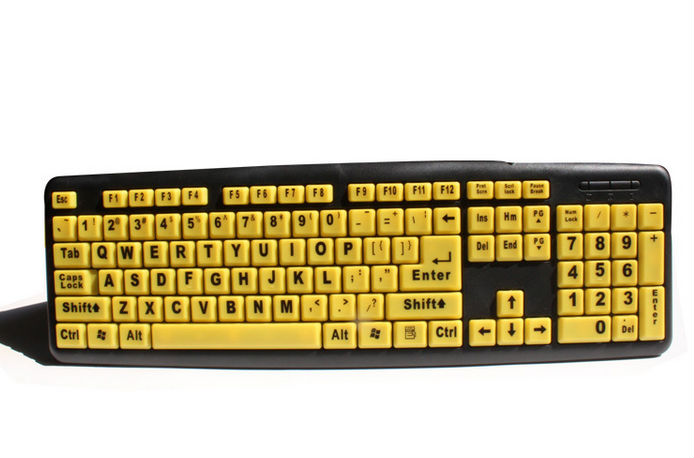 Cheap best Wired keyboard big character keyboard old people keyboard