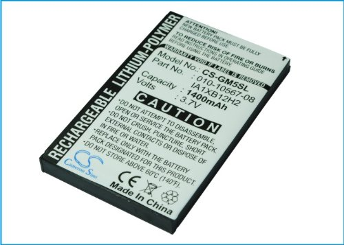 VINTRONS Rechargeable Battery 1400mAh For Garmin iQue M5, IA1XB12H2, IA1XA8H2, 101056708, 011-01018-00
