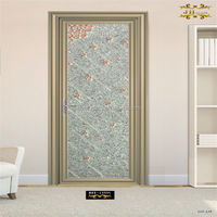 high quality interior office door with glass window