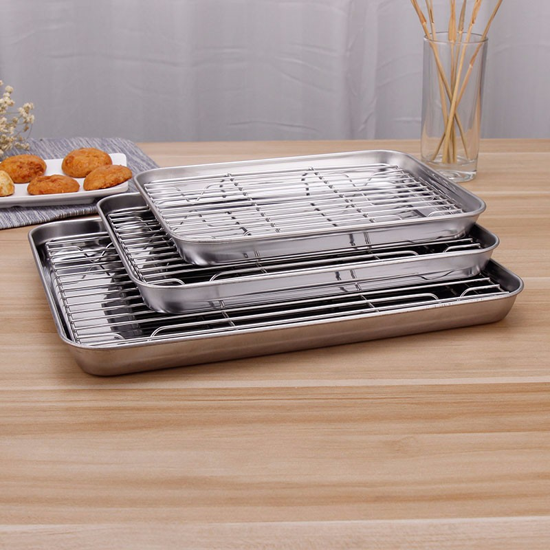 Stainless Steel Cooling Rack Baking Rack Fit Various Size