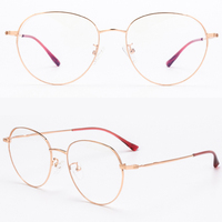 2019 Popular Retro Circular eyeglasses Newly designed Optical Eyewear Multicolor Metal Frame Reading Glasses