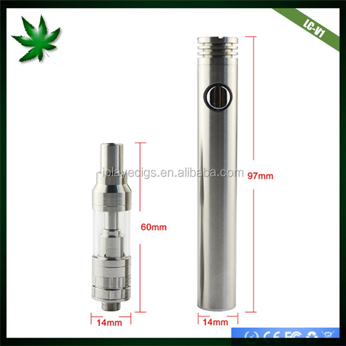 New products iPlay cbd wickless cartridge,LC-V1 1 ml ceramic heating glass thc/hemp oil vape pen