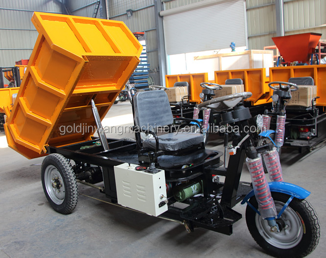 Energy saving electric 1500w drive motor power 3 wheel truck for sale