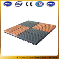 Choice,Outdoor Easy Install WPC DIY TILES/sauna Tiles