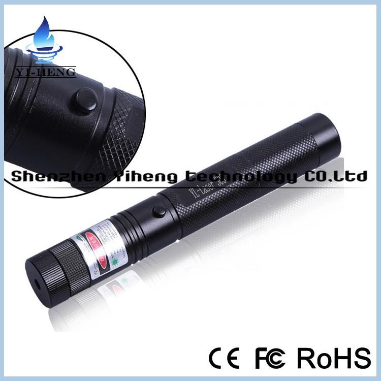 303 Jd Laser Verde 532nm Laser Pen Pointer 500mw Adjustable Focus ...
