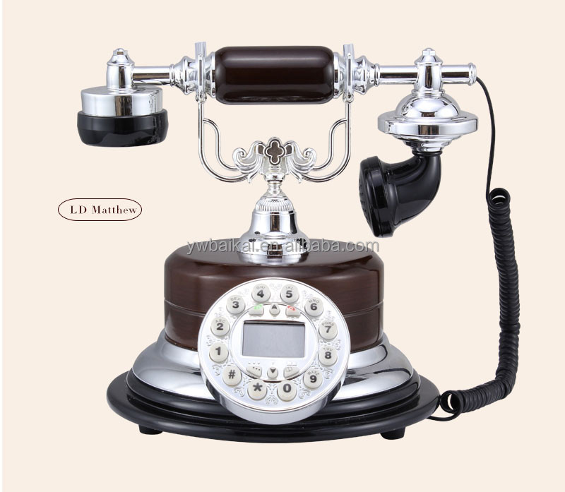 best selling mini silver rotary antigue telephone wholesale
