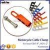 BJ-CC-001 CNC Aluminum Motorcycle Cable Clamp Separator Wire Spacer Holder Organizer