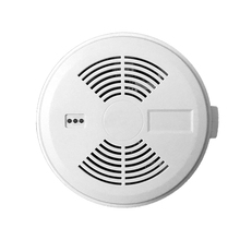 Photoelectric GSM conventional fire smoke detector with long life battery