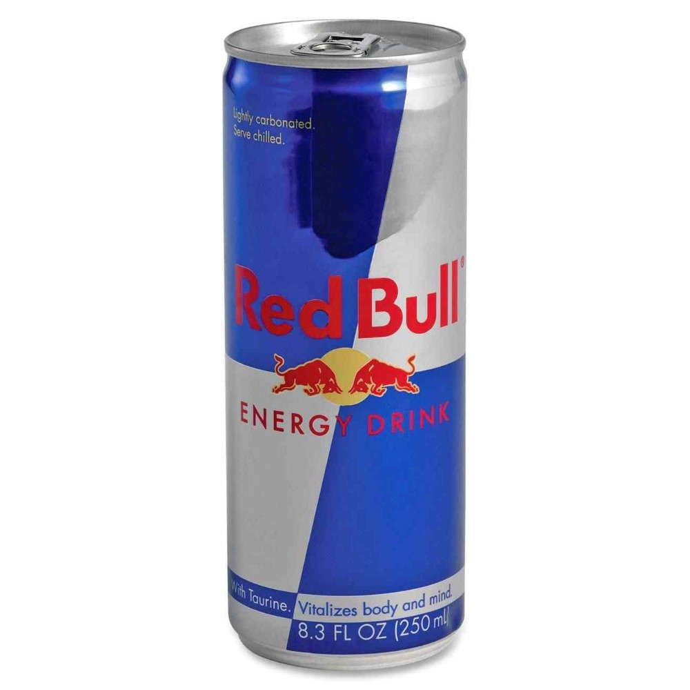 Red Bull 25cl Empty Slim Aluminum Can For Energy Drink ...