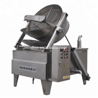 noodles deep frying machine with stir device