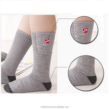 Rechargeable socks heated cycling electric socks battery