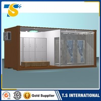 Custom Design newest 20ft 40ft overseas shipping container