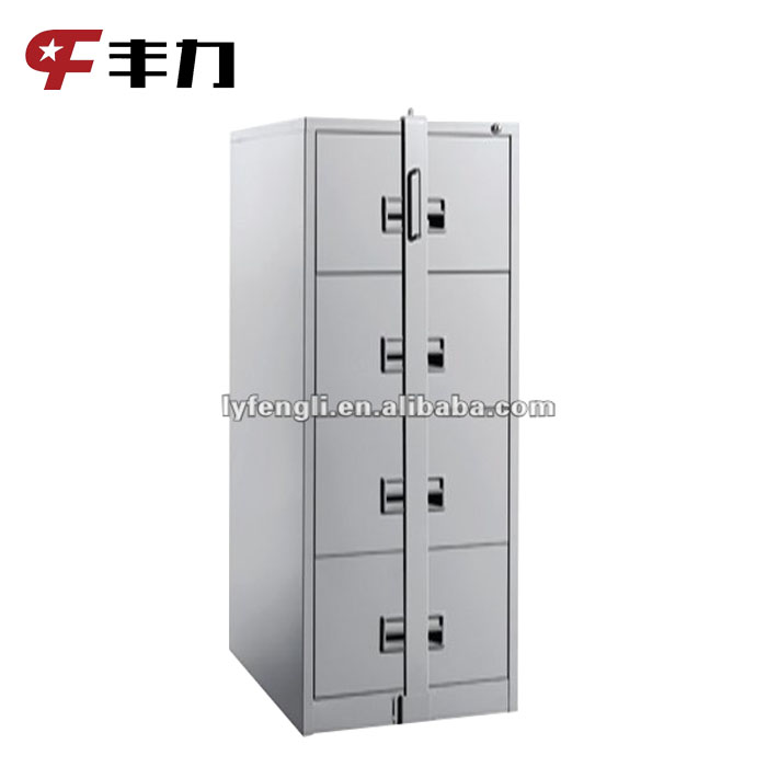 4 Drawers Vertical Metal Filing Storage