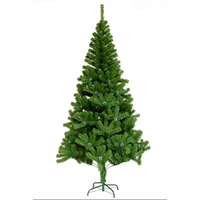 good quality low price PVC christmas tree with pine cone for home decoration
