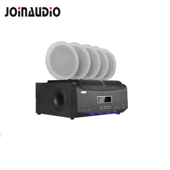 7e09bf7466f 5.1 home theater sound system 2-way in-ceiling speakers with amplified  subwoofer