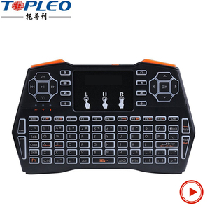 mini keyboard i8 plus keyboard mouse with touchpad for android tv box