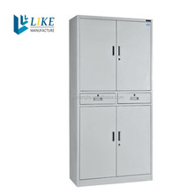 china suppiler bamboo file cabinet with drawers swing doors