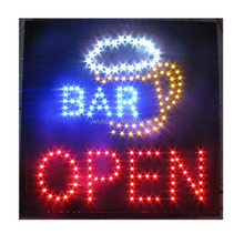 Led beer OPEN bar neon sign