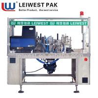 Leiwest Pak fully-automatic carton Tableware Applicator machine LWTY-2