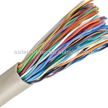 Utp 24 Awg Copper Cat5 Multicore Telecommunication 100