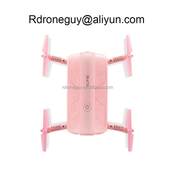 2018 hot sale pocket selfie mini jjrc h37 pink drone with hd camera and wifi fpv camera like phantom drone