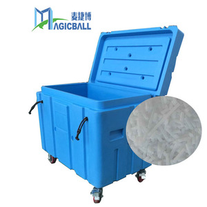 freezer boxes/durable plastic container/storage/food transport box